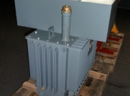 200KVA distribution transformer with HV and LV cable boxes