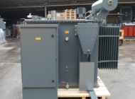 LV panel installed on OTDS transformer package substation