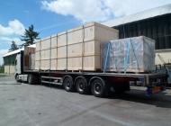 5000KVA transformers loaded and ready for shipment