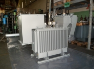underground cable boxes installed on transformer