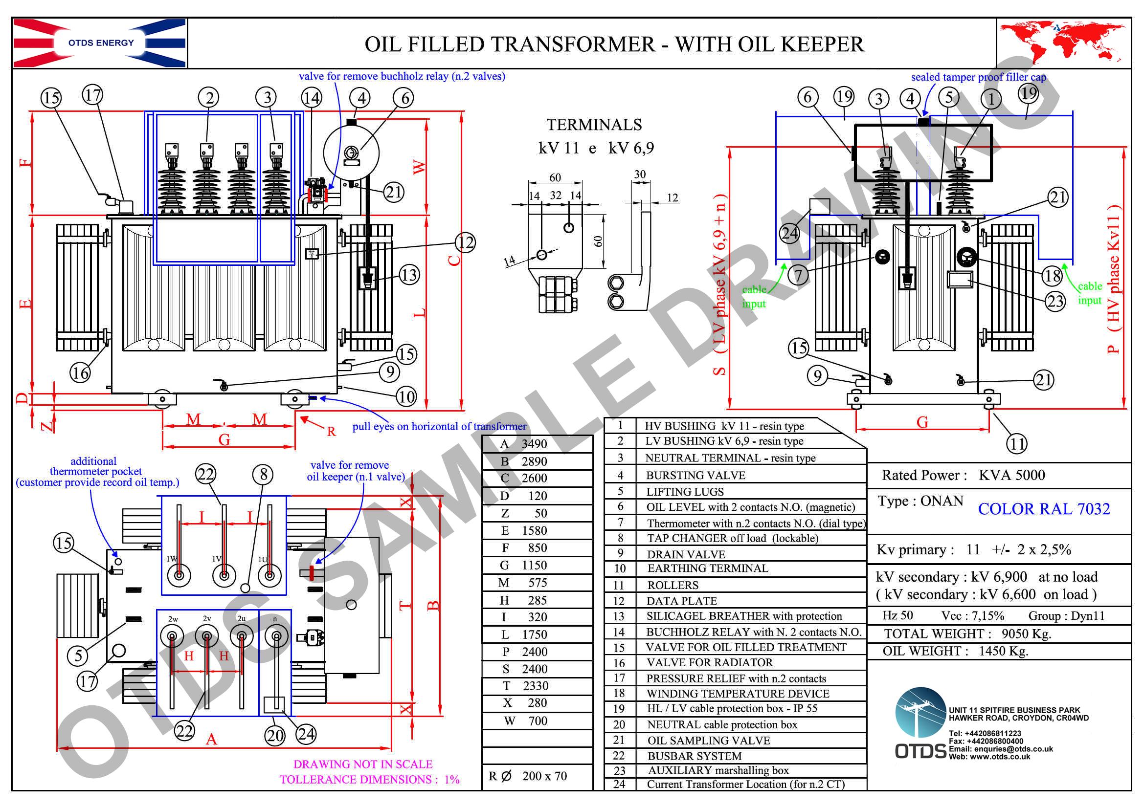5000 kva transformer wiring diagram transformer room