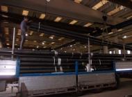 Loading of steel poles