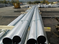 Steel Poles stacked