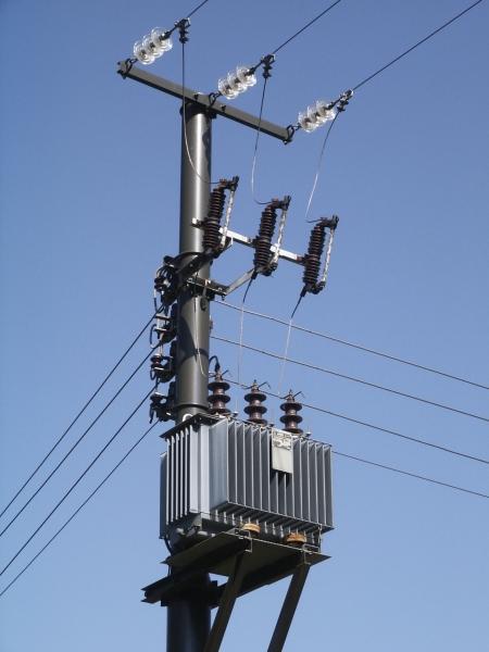 pole mounted substations