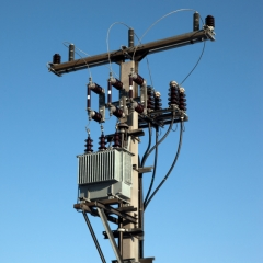Pole Mounted Substations Transformer Platforms Switchgear