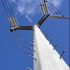 Steel Distribution Poles